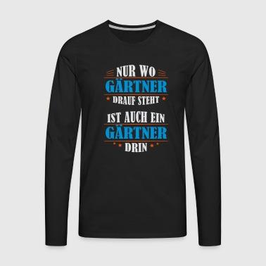 Manches longues jardinier commander en ligne spreadshirt - Cadeau jardinage homme ...