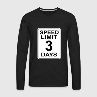 Speedlimit # 2 - Men's Premium Longsleeve Shirt