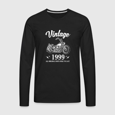 Vintage 1999 All Original Parts Built To Last - Men's Premium Longsleeve Shirt