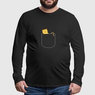 Cat in the bag - Men's Premium Longsleeve Shirt