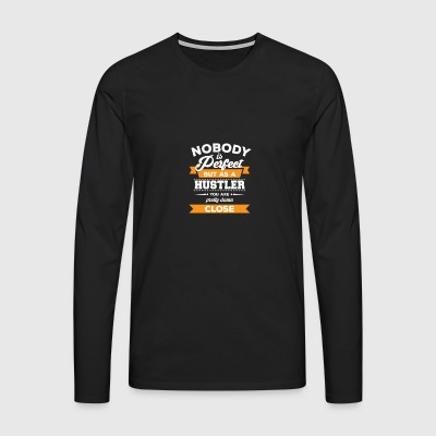 Hustler - Business - Entrepreneur gift - Hustle - Men's Premium Longsleeve Shirt