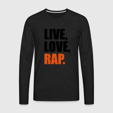 2541614 14562687 rap - Men's Premium Longsleeve Shirt