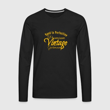 Perfection in Germany - Men's Premium Longsleeve Shirt