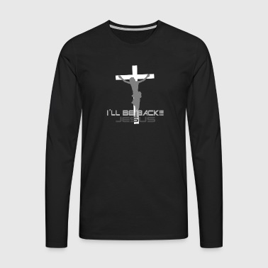 Jesus is coming again - Men's Premium Longsleeve Shirt