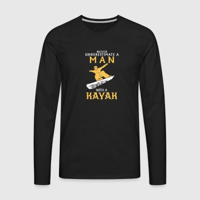 I love my Kayak - Men's Premium Longsleeve Shirt