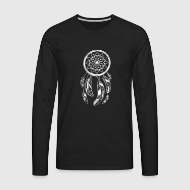 Dream dream feather catcher indian indian - Men's Premium Longsleeve Shirt