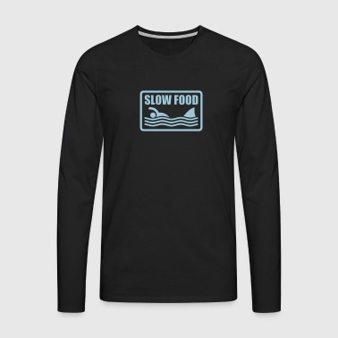 slow food - Men's Premium Longsleeve Shirt