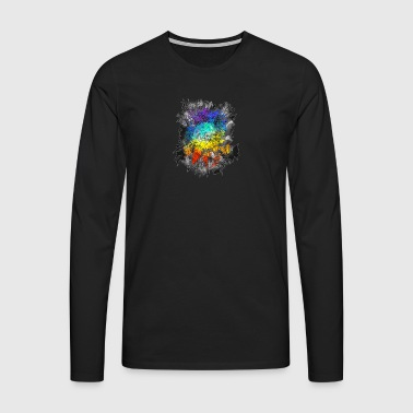 Dreamcatcher Rainbow Colors - T-shirt manches longues Premium Homme