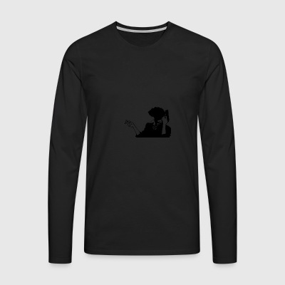 Cowboy bebop spike HQ simple - Men's Premium Longsleeve Shirt