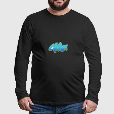Cool street art graffiti - Men's Premium Longsleeve Shirt