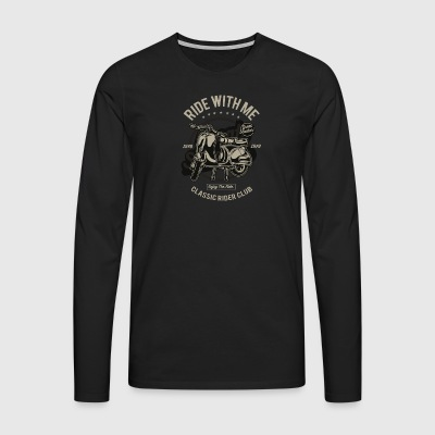 Ride With Me - T-shirt manches longues Premium Homme