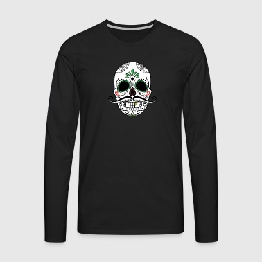 Skulls Day of the Dead Halloween gift - Men's Premium Longsleeve Shirt