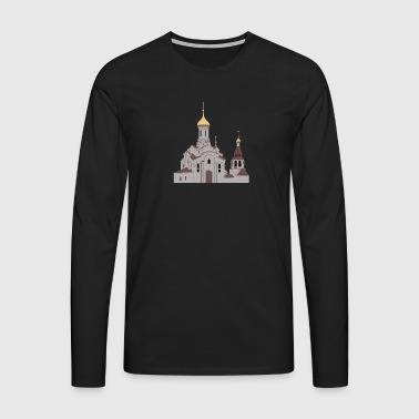 Eglise orthodoxe - T-shirt manches longues Premium Homme