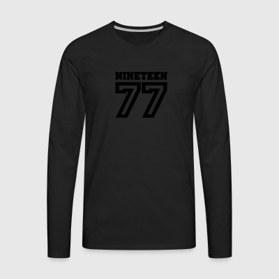 6061912 133179707 1977 - Men's Premium Longsleeve Shirt