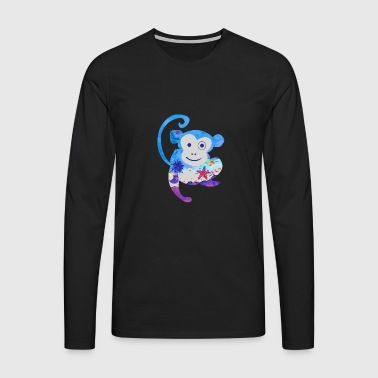 Baltic Sea Monkey - Camiseta de manga larga premium hombre