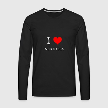I Love North Sea - Men's Premium Longsleeve Shirt