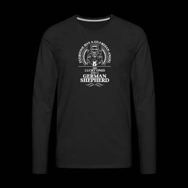 GERMAN SHEPHERD Guardian Angel - Men's Premium Longsleeve Shirt