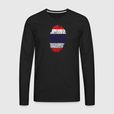 Fingerprint - Thailand - Men's Premium Longsleeve Shirt