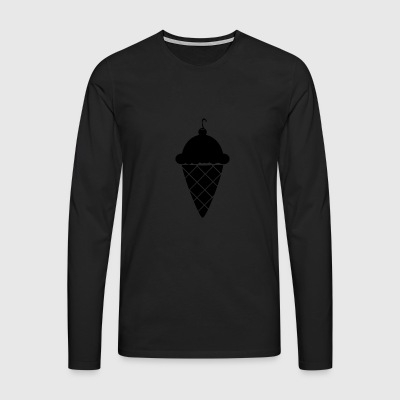 ice_cream - T-shirt manches longues Premium Homme