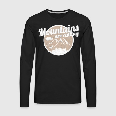 Mountains - Men's Premium Longsleeve Shirt