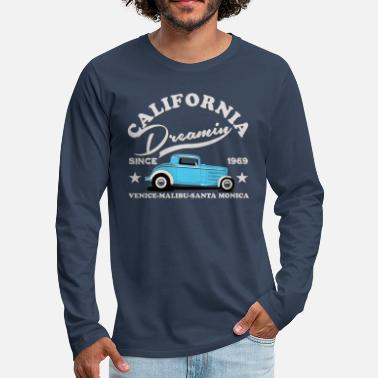 Californie HOT ROD Tee Shirts - T-shirt manches longues Premium Homme