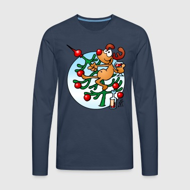 Rudolph the Red Nosed Reindeer - Men's Premium Longsleeve Shirt