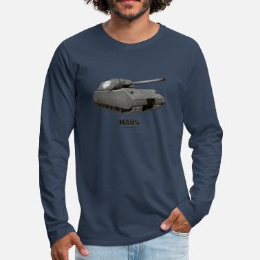 World Of Tanks World of Tanks - Maus - Men's Premium Longsleeve Shirt