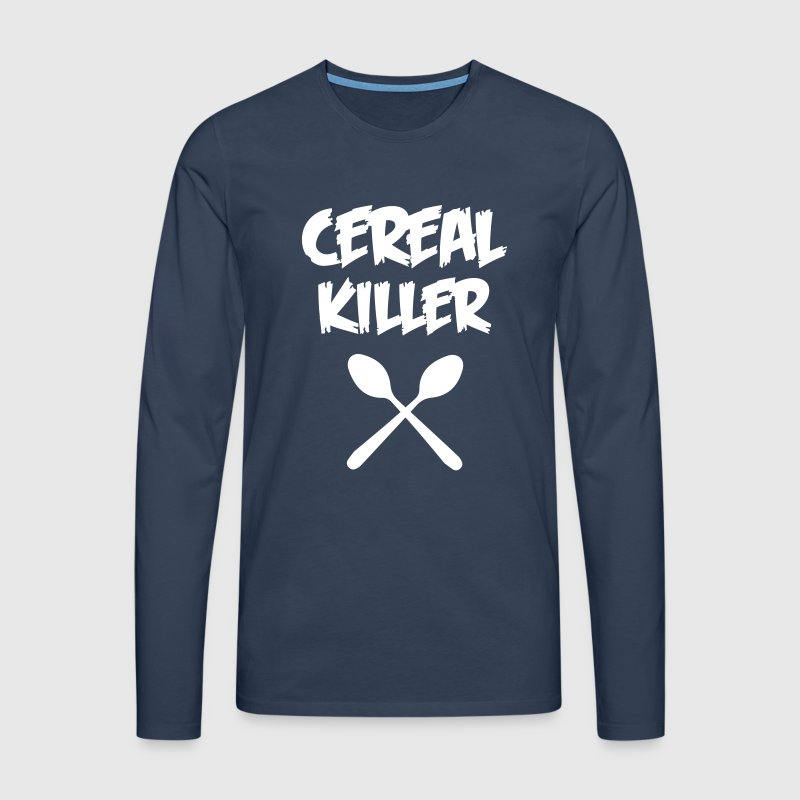 CEREAL KILLER - Men's Premium Longsleeve Shirt