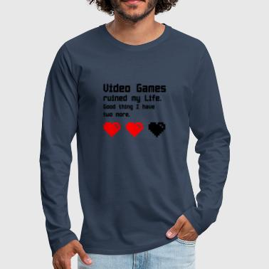 video Games - Men's Premium Longsleeve Shirt