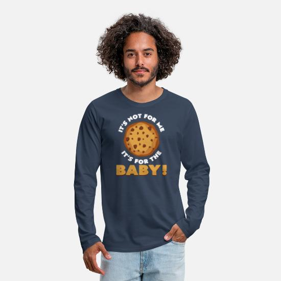 Occasion Long sleeve shirts - Super nice gift for young people waiting - Men's Premium Longsleeve Shirt navy
