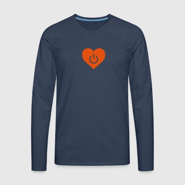 power of love v1 - Men's Premium Longsleeve Shirt