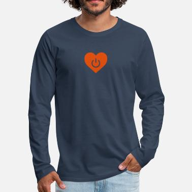 power of love v1 - T-shirt manches longues Premium Homme