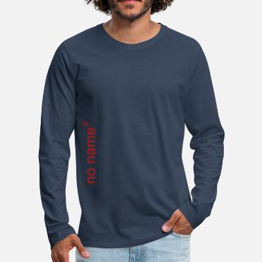 Funky no name with funky red sign - Men's Premium Longsleeve Shirt