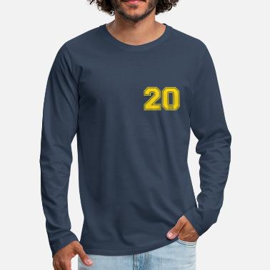 Fun 20 centimeter - Men's Premium Longsleeve Shirt