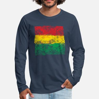3 colors makes me happy - Männer Premium Langarmshirt