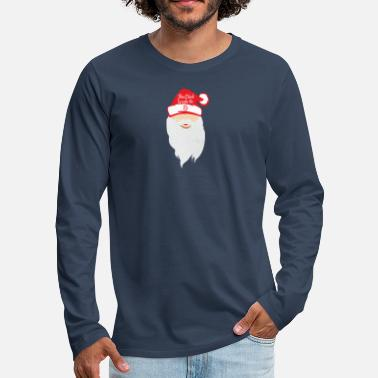 Santa the Boss - Santa Claus shirt - Men's Premium Longsleeve Shirt