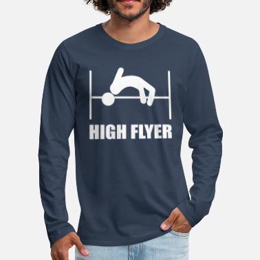 High Jump high jump - Men's Premium Longsleeve Shirt