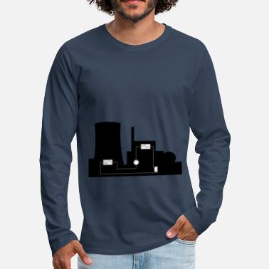 Power Plant power plant - Men's Premium Longsleeve Shirt