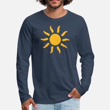 Symbols-shapes sun sunshine symbols shapes - Men's Premium Longsleeve Shirt