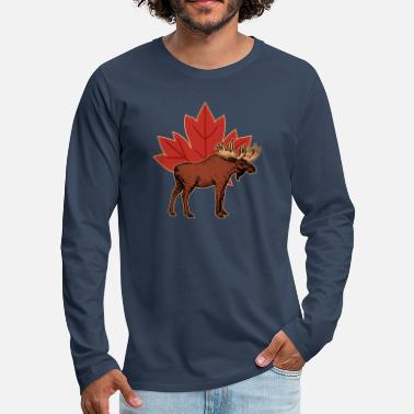 Canada Canada Country North America Gift Canada - Men's Premium Longsleeve Shirt