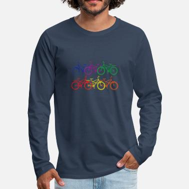 Bike Colors - Men's Premium Longsleeve Shirt