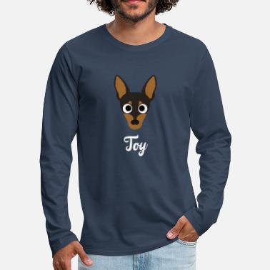 Toy Toy - Toy Terrier - Men's Premium Longsleeve Shirt