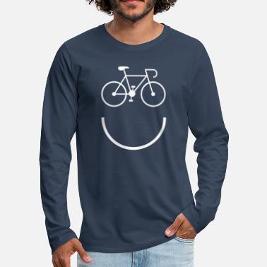 Smile Cycling - Smile and Ride - Men's Premium Longsleeve Shirt