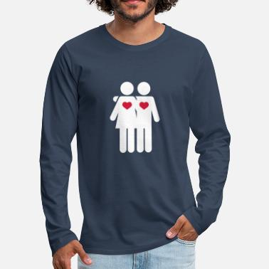 Sexy Lovers - Men's Premium Longsleeve Shirt