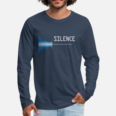 Pollution Sound silence Sound pollution Pollution - Men's Premium Longsleeve Shirt