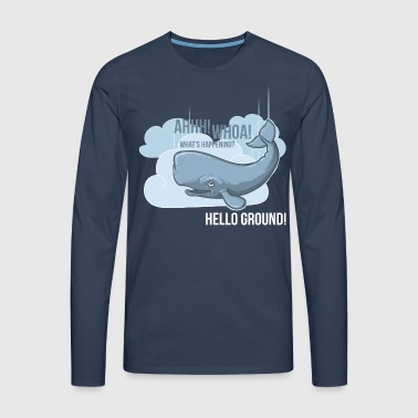 Hello Ground! - Men's Premium Longsleeve Shirt