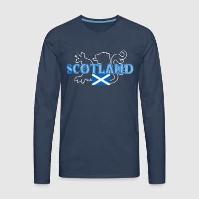 scotland - Men's Premium Longsleeve Shirt