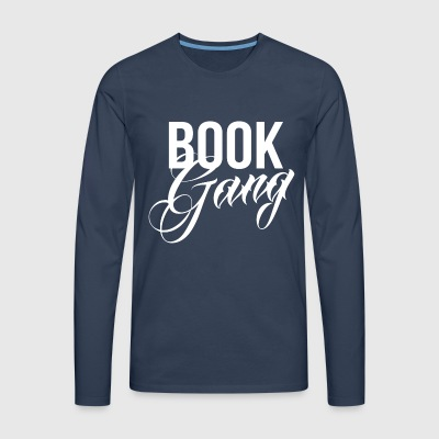 Book Gang - T-shirt manches longues Premium Homme