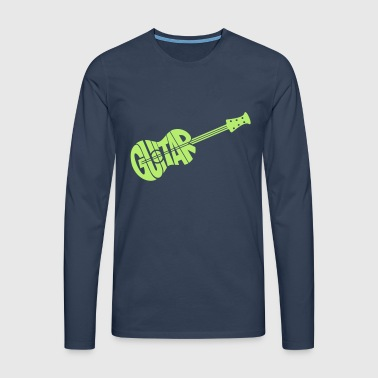 guitar - Men's Premium Longsleeve Shirt
