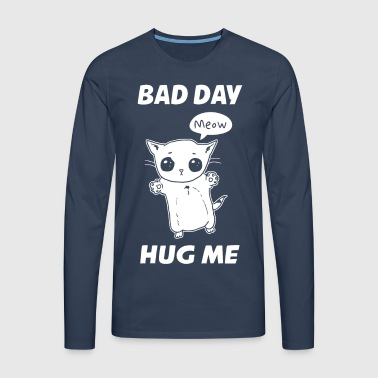 BAD DAY HUG ME - T-shirt manches longues Premium Homme